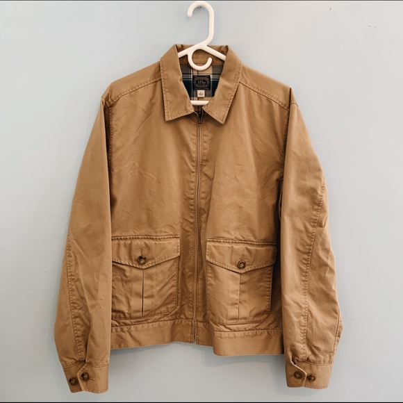 J. Crew Other - J. Crew New York Sportsmen's Canvas Coat Khaki
